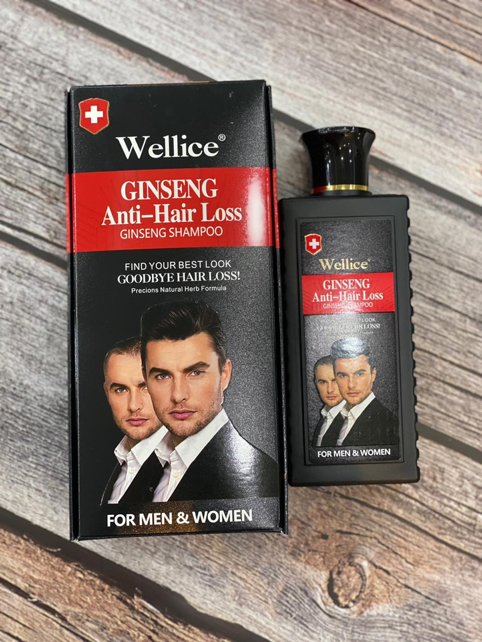 Wellice Ginseng Anti-hair Loss Shampoo - Order Kuch B